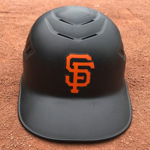 Photo of San Francisco Giants - 2016 Postseason Helmet - #39 Hensley Meulens