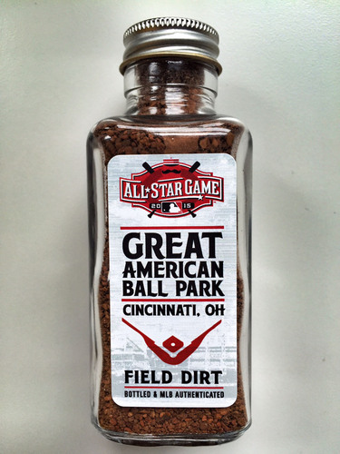 Photo of 2015 All-Star Game Dirt Jar