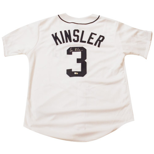 Photo of Detroit Tigers Ian Kinsler Autographed Jersey