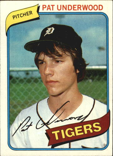 Photo of 1980 Topps #709 Pat Underwood RC