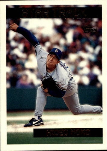 Photo of 1995 Topps Traded #40T Hideo Nomo RC
