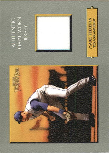 Photo of 2006 Topps Turkey Red Relics #MT Mark Teixeira Jsy D