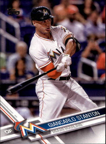 Photo of 2017 Topps #25A Giancarlo Stanton