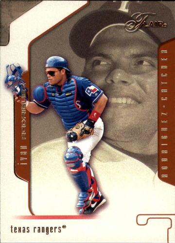 Photo of 2002 Flair #71 Ivan Rodriguez