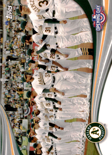 Photo of 2017 Topps Opening Day Opening Day #ODB12 Oakland Athletics