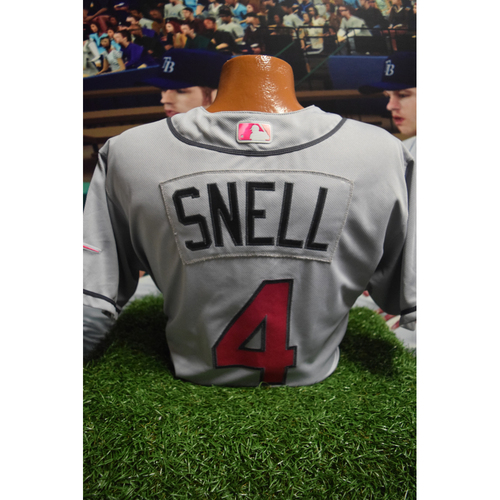 Photo of Game-Used Mother's Day Jersey: Blake Snell