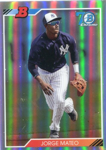 Photo of 2017 Bowman Chrome '92 Bowman Refractors #92BJM Jorge Mateo
