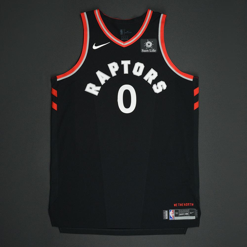 CJ Miles - Toronto Raptors - Statement Game-Worn Jersey  - 2017-18 Season