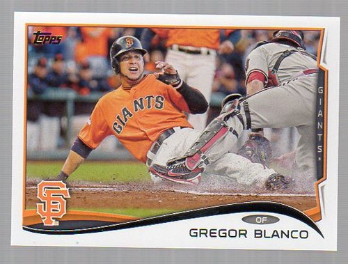 Photo of 2014 Topps #270 Gregor Blanco