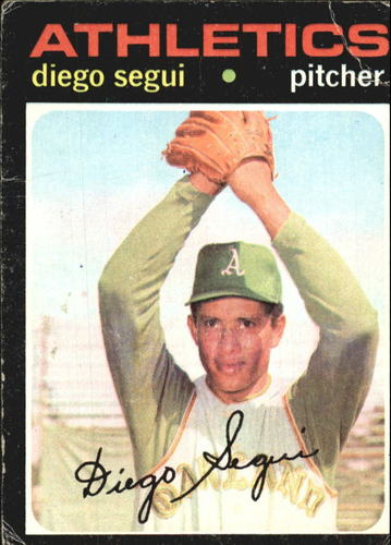 Photo of 1971 Topps #215 Diego Segui
