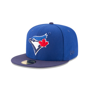 Toronto Blue Jays Performance Basic Fittted Cap by New Era