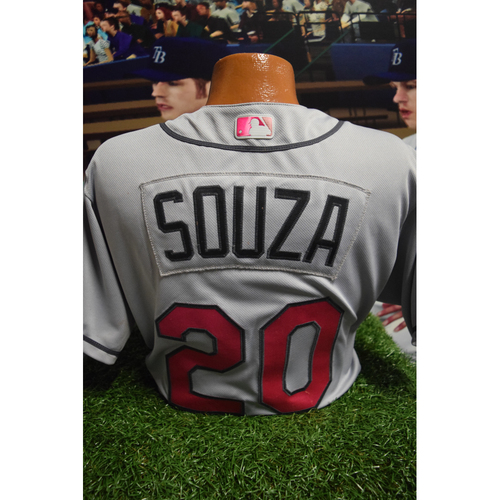Photo of Game-Used Mother's Day Jersey: Steven Souza Jr.
