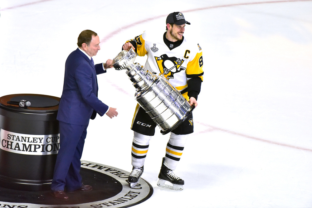 2017 Stanley Cup Presentation Carpet Used During Pittsburgh Penguins On-Ice Championship Celebration