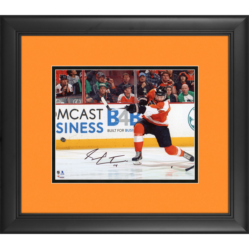Sean Couturier Philadelphia Flyers Framed Autographed 8