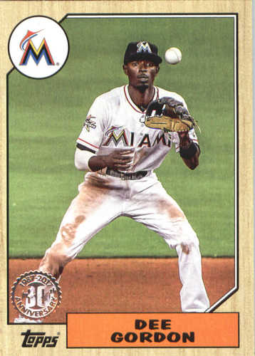 Photo of 2017 Topps Update '87 Topps #US8712 Dee Gordon