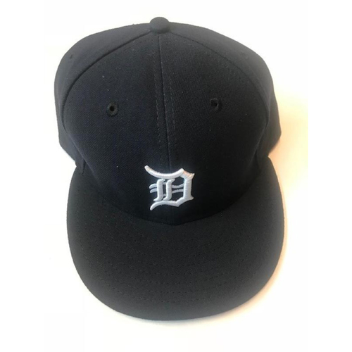 Photo of Game-Used Anibal Sanchez Cap: 9-11-2016