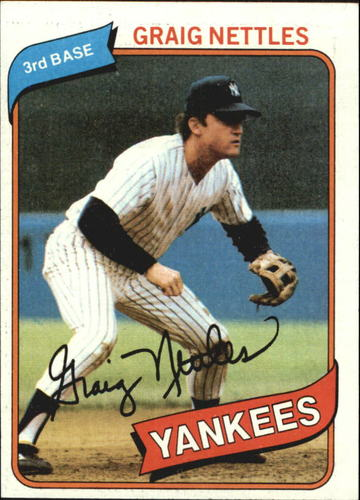 Photo of 1980 Topps #710 Graig Nettles