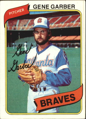 Photo of 1980 Topps #504 Gene Garber