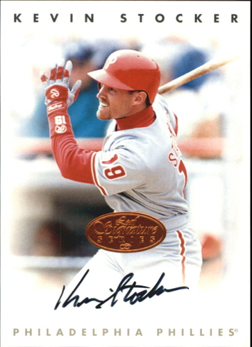 Photo of 1996 Leaf Signature Autographs #216 Kevin Stocker