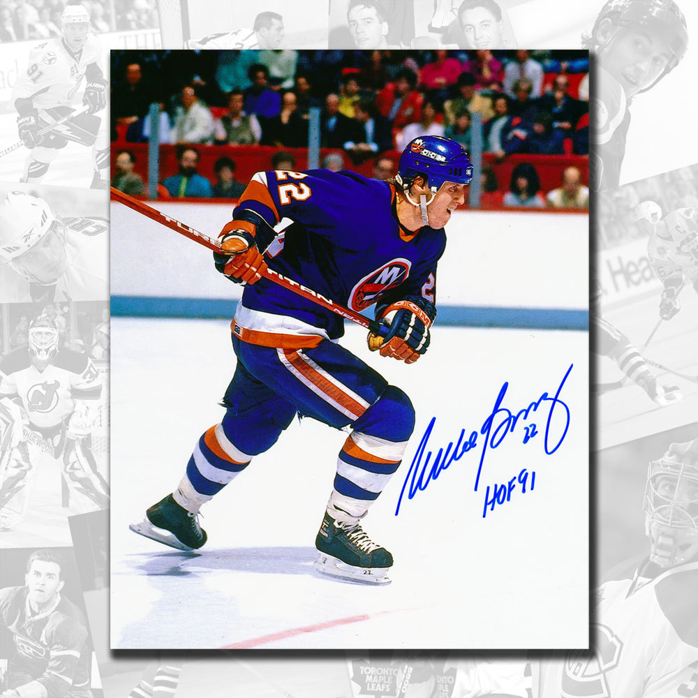 Mike Bossy New York Islanders Autographed 16x20