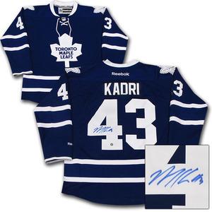 Nazem Kadri Autographed Toronto Maple Leafs Jersey