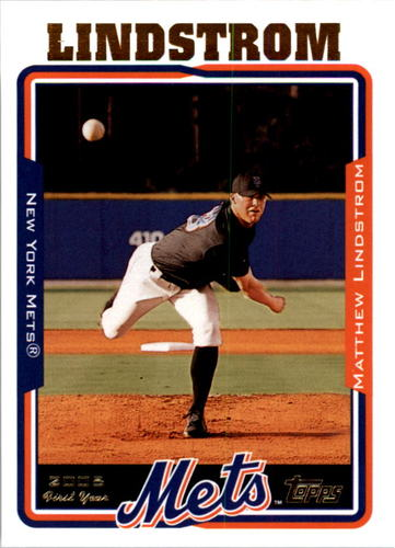 Photo of 2005 Topps #309 Matthew Lindstrom FY RC