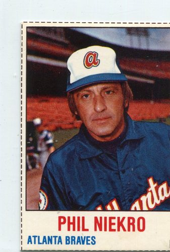 Photo of 1978 Hostess #122 Phil Niekro