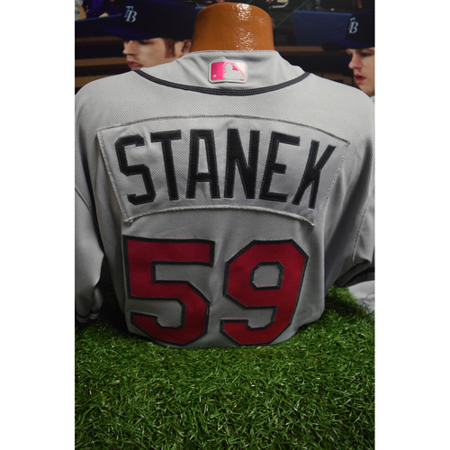 Photo of Game-Used Mother's Day Jersey: Ryan Stanek