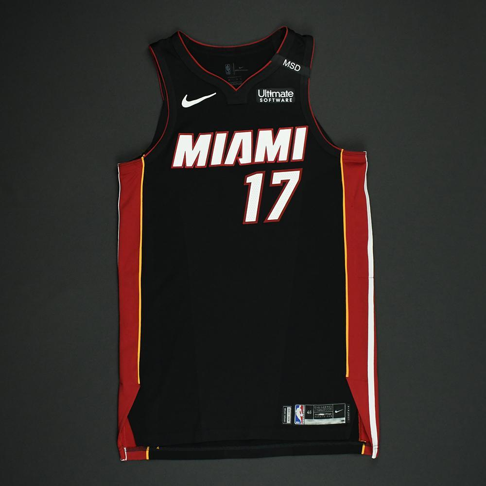 Rodney McGruder - Miami Heat - 2018 NBA Playoffs Game-Worn Jersey