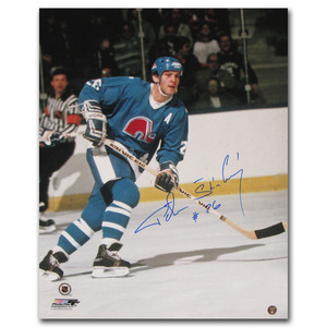 Peter Stastny Autographed Quebec Nordiques 16X20 Photo