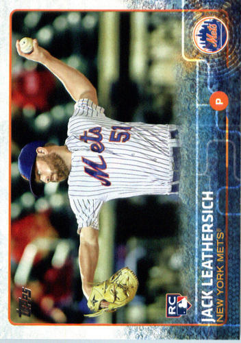 Photo of 2015 Topps Update #US26 Jack Leathersich RC