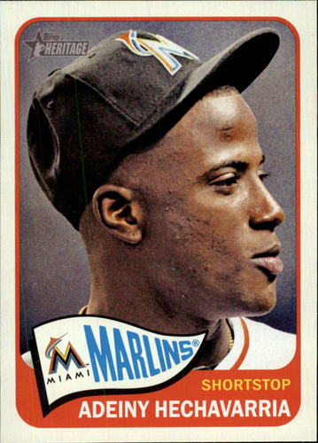 Photo of 2014 Topps Heritage #365 Adeiny Hechavarria