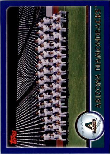 Photo of 2003 Topps #631 Arizona Diamondbacks TC