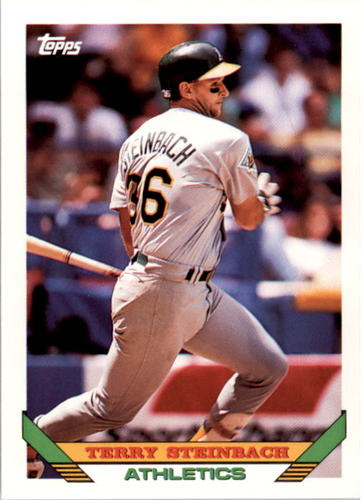 Photo of 1993 Topps #18 Terry Steinbach