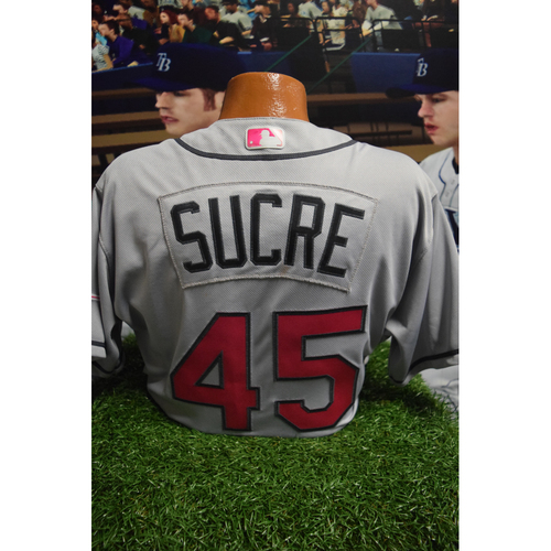 Photo of Game-Used Mother's Day Jersey: Jesus Sucre