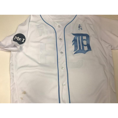 Photo of Game-Used John Murrian Father's Day Jersey