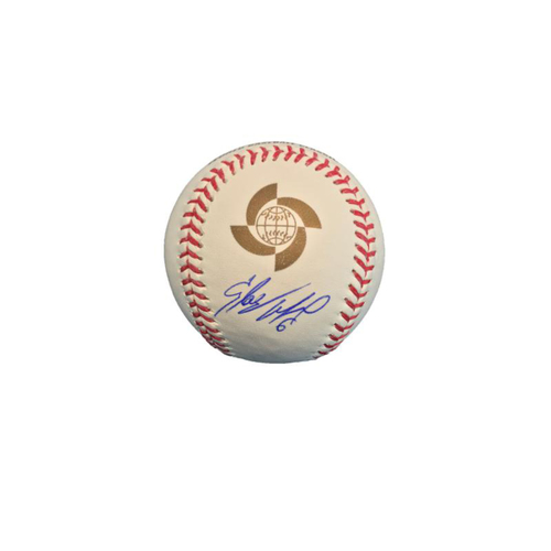 Photo of Starling Marte Autographed 2017 World Baseball Classic Baseball