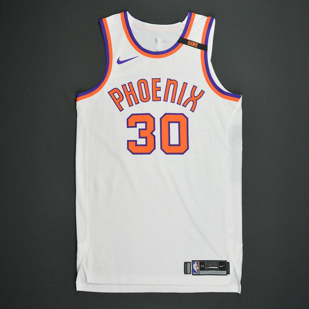 Troy Daniels - Phoenix Suns - Kia NBA Tip-Off 2017 - Hardwood Classics 1968-69 Home Style Game-Worn Jersey w/ HAWK Patch