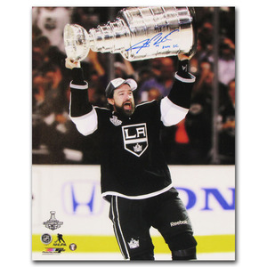 Justin Williams Autographed Los Angeles Kings 2014 Stanley Cup 16X20 Photo w/2014 SC Inscription