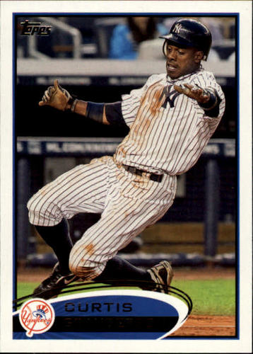 Photo of 2012 Topps #290 Curtis Granderson