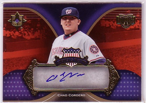 Photo of 2007 Ultimate Collection America's Pastime Signatures #CC Chad Cordero