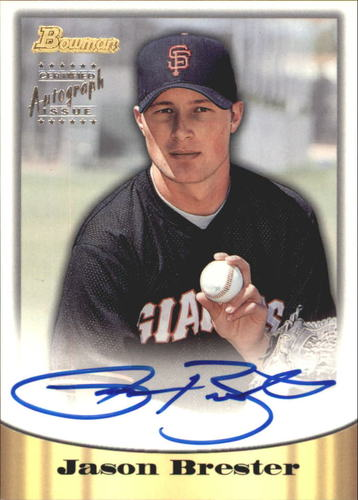 Photo of 1998 Bowman Certified Silver Autographs #40 Jason Brester