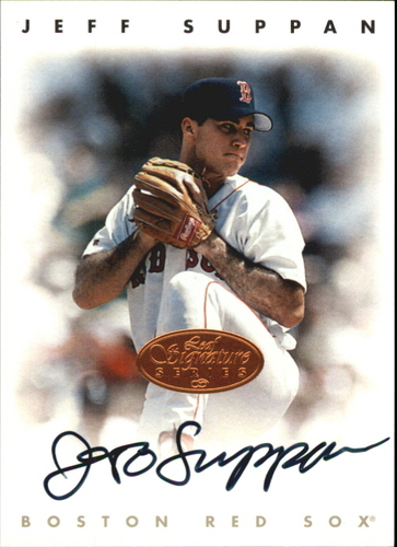 Photo of 1996 Leaf Signature Autographs #217 Jeff Suppan