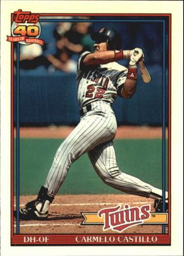 Photo of 1991 Topps Tiffany #266 Carmelo Castillo