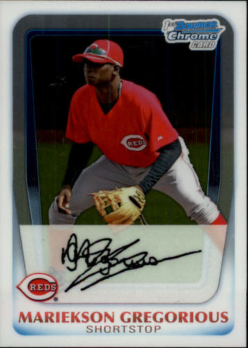 Photo of 2011 Bowman Chrome Prospects #BCP209 Mariekson Gregorious