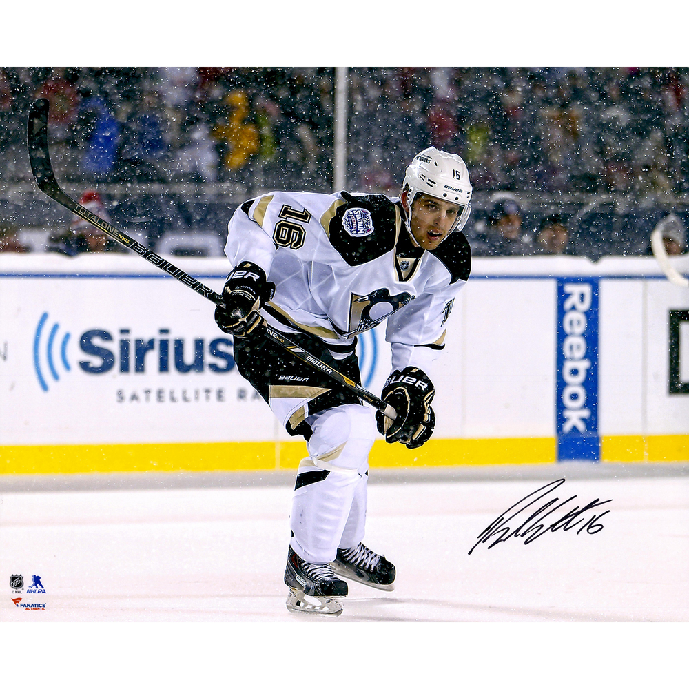 Brandon Sutter Pittsburgh Penguins Autographed Stadium Series 16