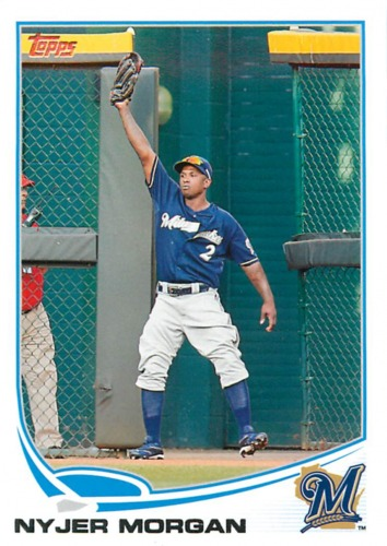 Photo of 2013 Topps #172 Nyjer Morgan