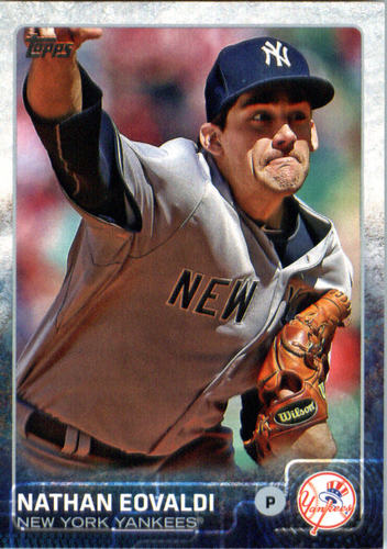 Photo of 2015 Topps Update #US27 Nathan Eovaldi
