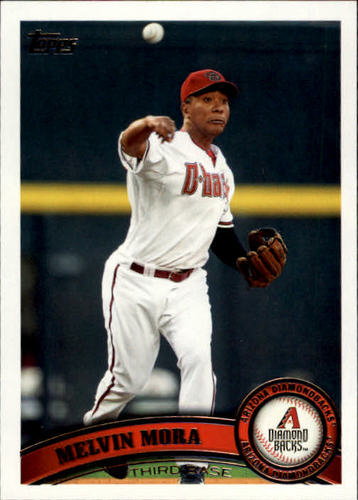 Photo of 2011 Topps Update #US324 Melvin Mora