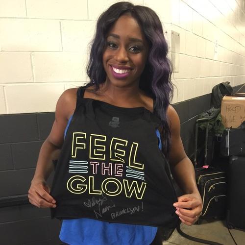 Photo of Naomi WORN & SIGNED T-Shirt (RAW - 03/28/16)